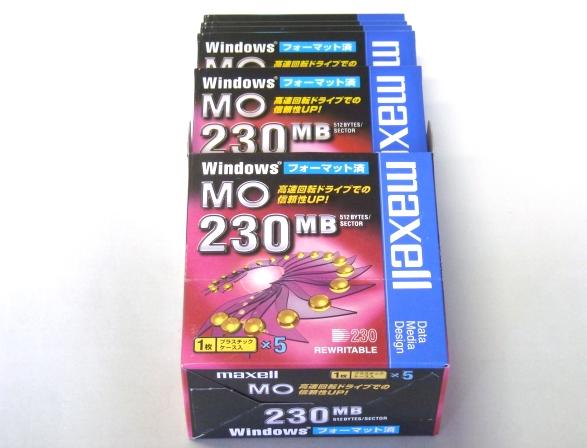 3.5インチ MO DISK 230MB_5
